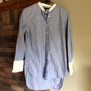 Banana Republic Button-up Dress shirt tunic